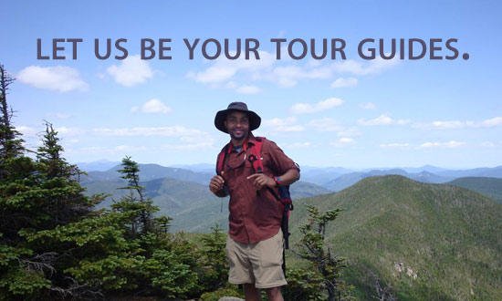 Let us be your tour guides.