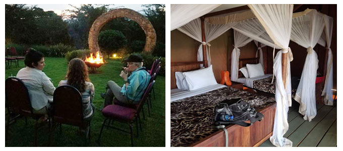 safari group accommodations